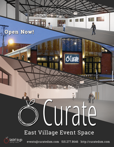 Curate East Village Event Venue Venues Taste To Go