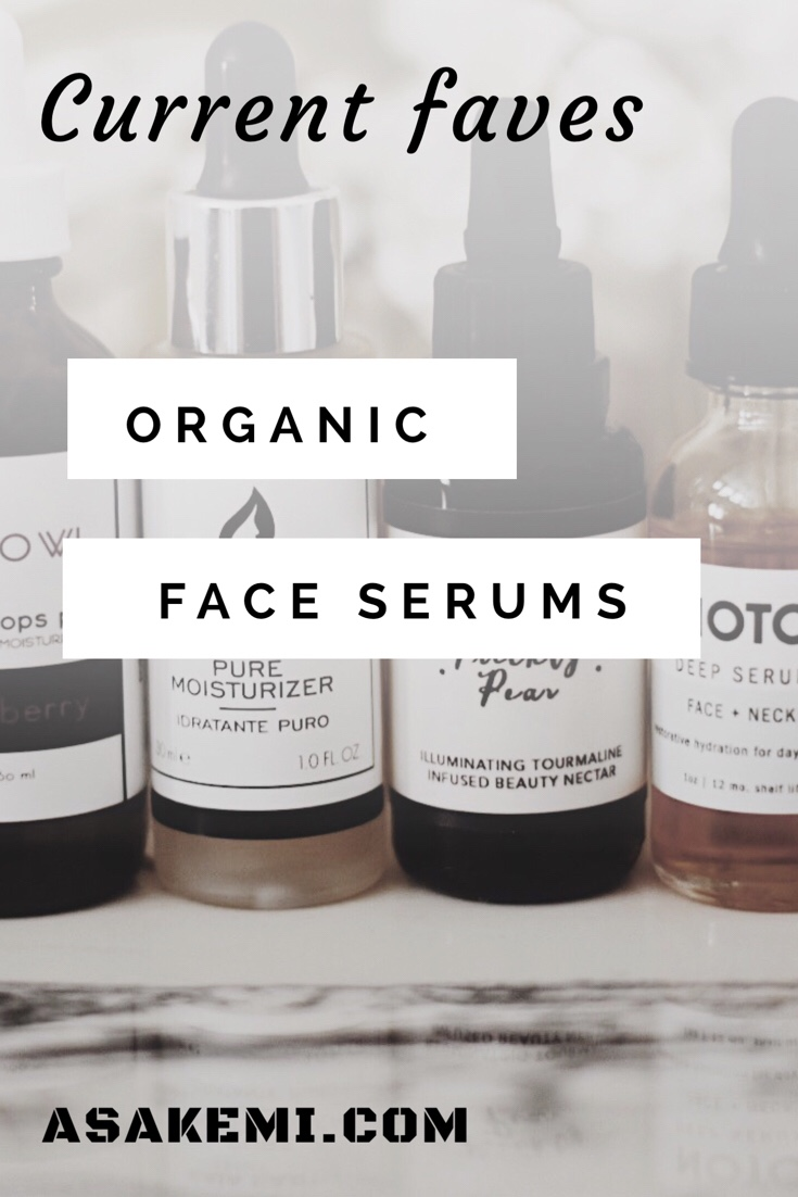 All Natural Face serums