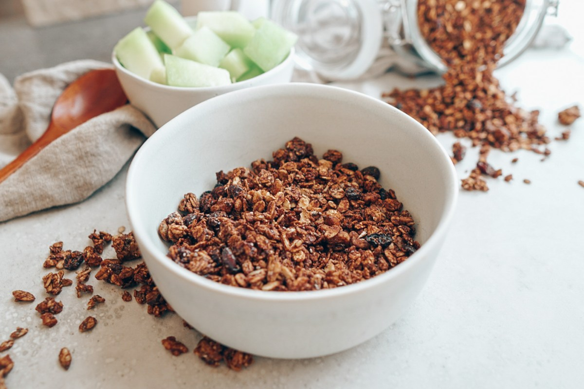quick and easy chocolate granola recipe