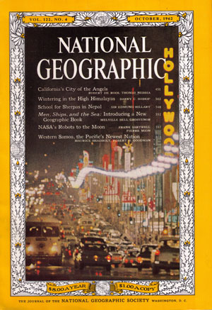 National Geographic Magazine Cover