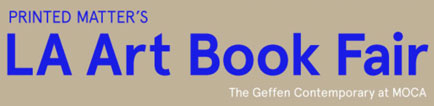 LA Art Book Fair Banner