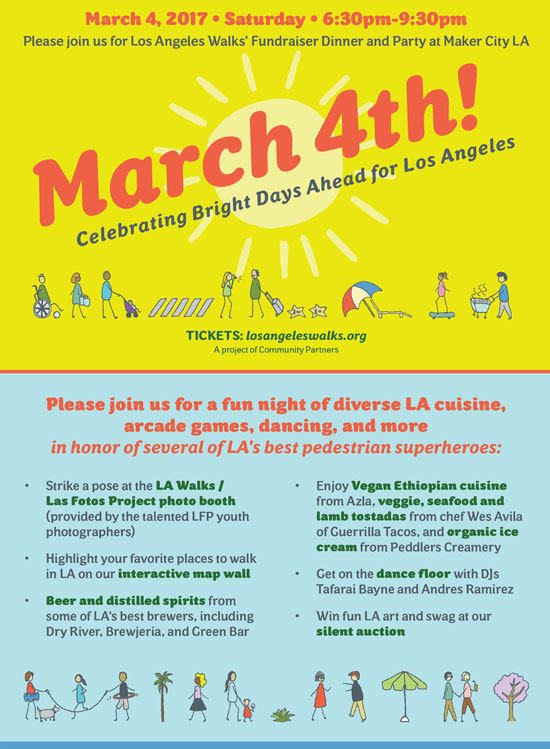 Los Angeles Walks' Fundraiser is Around the Corner