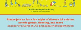 LA Walks Fundraiser Banner