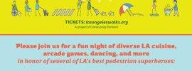 LA Walks Fundraiser Banner