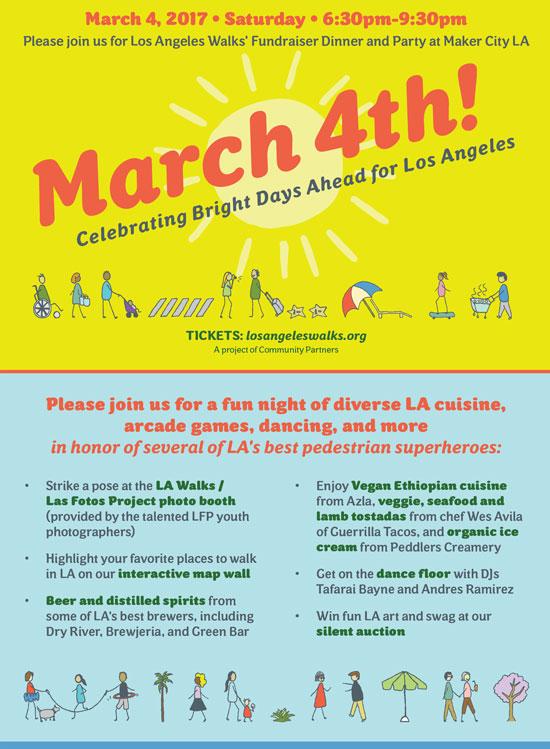 Los Angeles Walks Fundraiser Banner