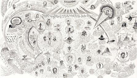 Hexen 2039 Diagram, 2011, Suzanne Treister