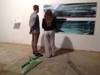 Russell Hill and Hannah Regel - installation view at The RYDER Projects.