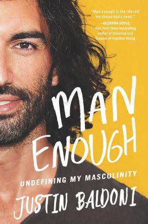 Man Enough cover art from Justin Baldoni