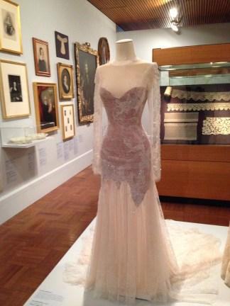 Lace dress by Paul Vasileff and Paolo Sebastian