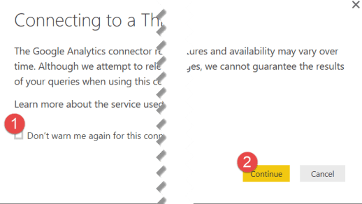 3 connecting to 3rd party power bi