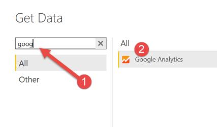get data google analytics