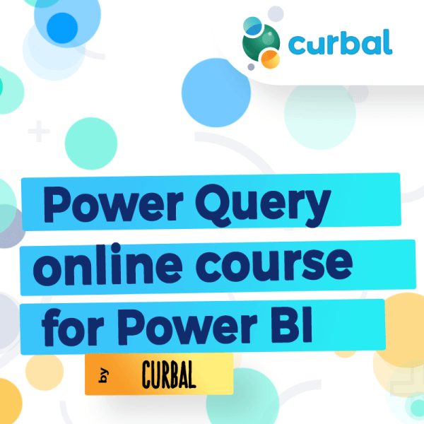 Power Query online course for power bi by curbal