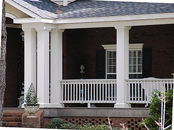 Tapered Porch Posts