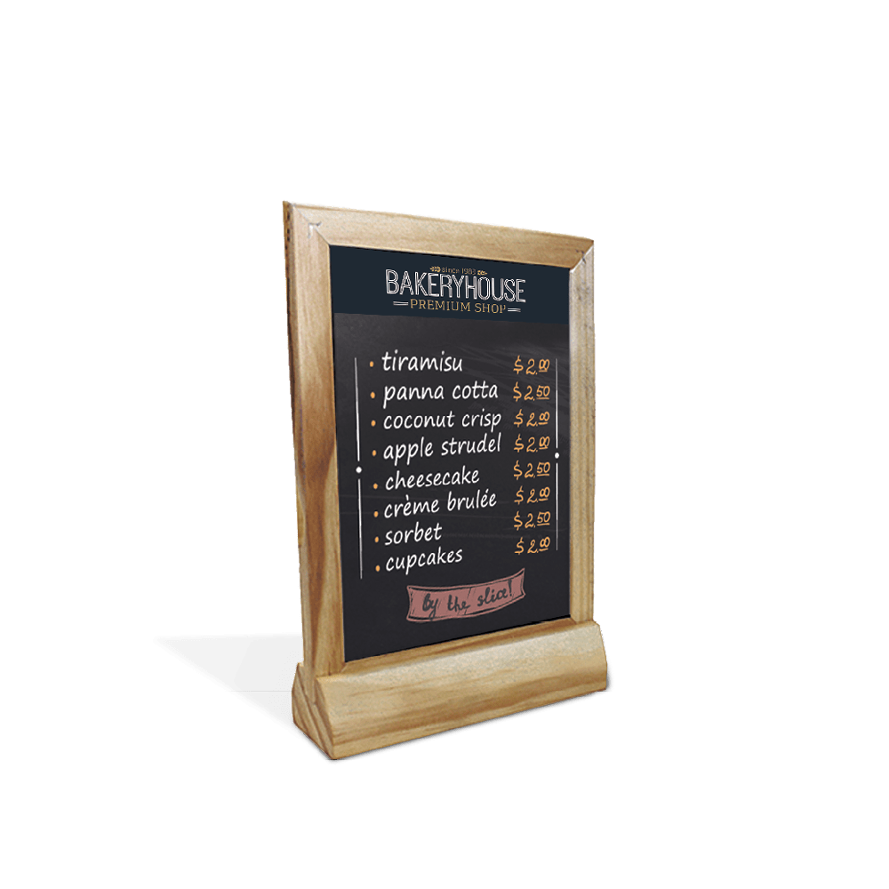 Table Topper Chalk Sign