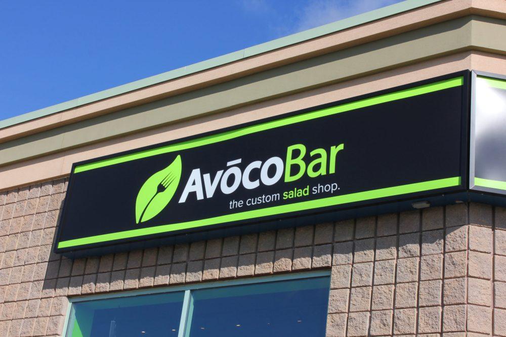 Backlit Signs for Avoco Bar
