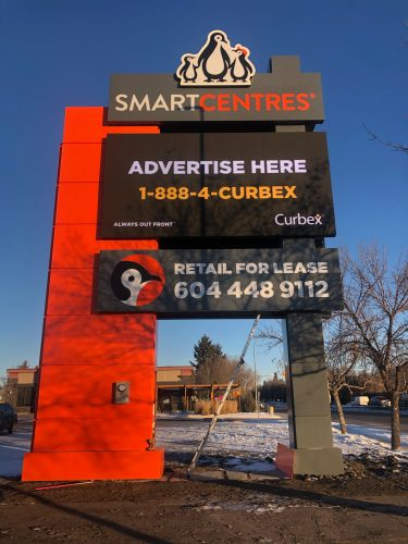 Smart Centres Digital Pylon Sign