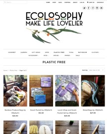 Ecolosophy Web Refresh - collections