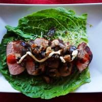 Paleo Sous-Vide Pork Loin Lettuce Wraps