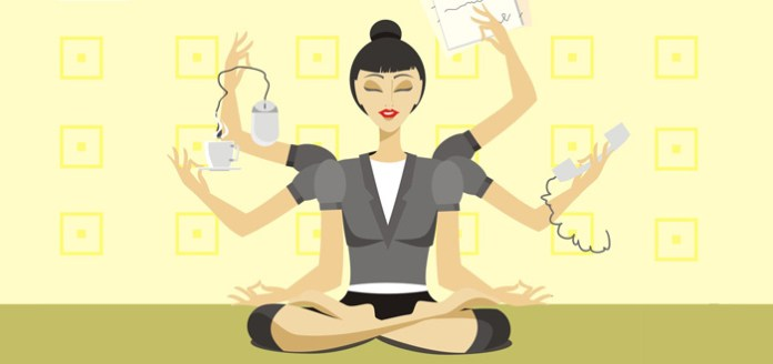 10 Amazingly Simple Tips To Become A Corporate Yogi.