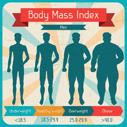 The BMI Scale.