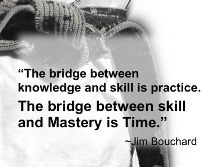 The bridge between skill and mastery.