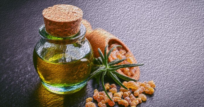 Benefits of frankincense oil for aging skin.