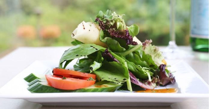 Mediterranean Style Spinach Pie Salad With Fresh Herbs