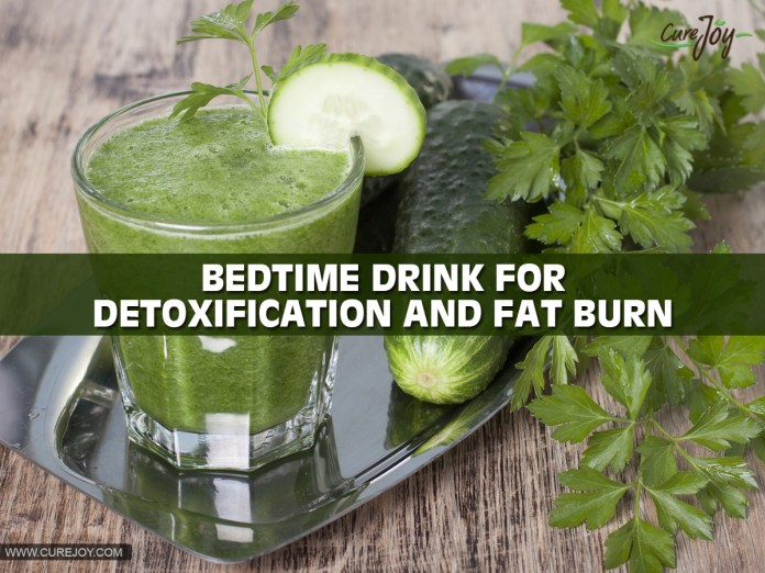 1-Bedtime-Drink-For-Detoxification-And-Fat-Burn