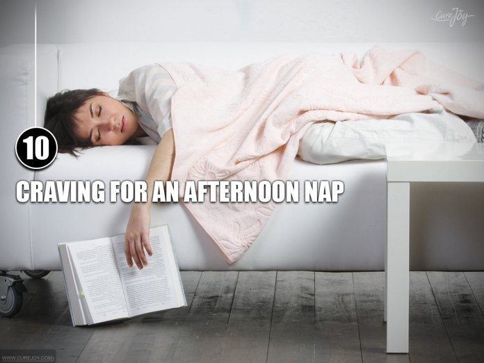 10-Craving-for-an-Afternoon-Nap