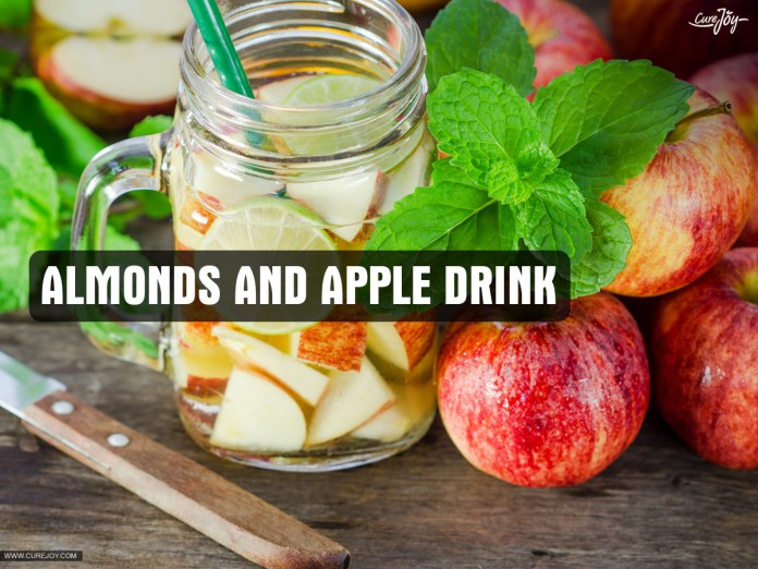 7-Almonds-and-apple-drink