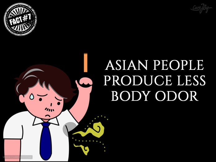 7-Asian-People-Produce-Less-Body-Odor