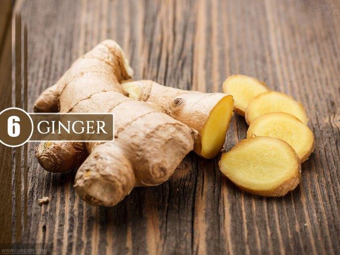 6.Ginger