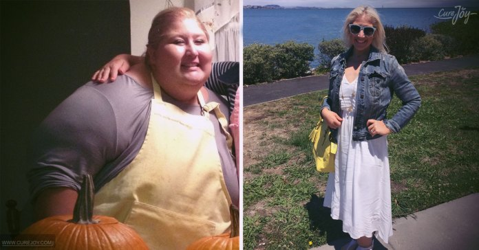 Woman-drops-350-pounds-and-encourages-others-to-'never-give-up