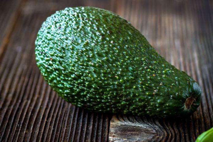 pick a dark colored avocado