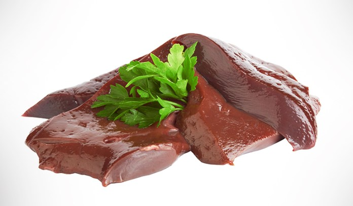 Beef liver is rich in vitamin B12.