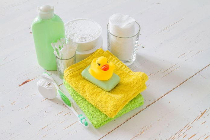What To Give Your Newborn Its First Bath
