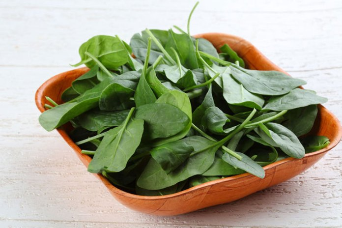 Water soluble Spinach is best eaten raw
