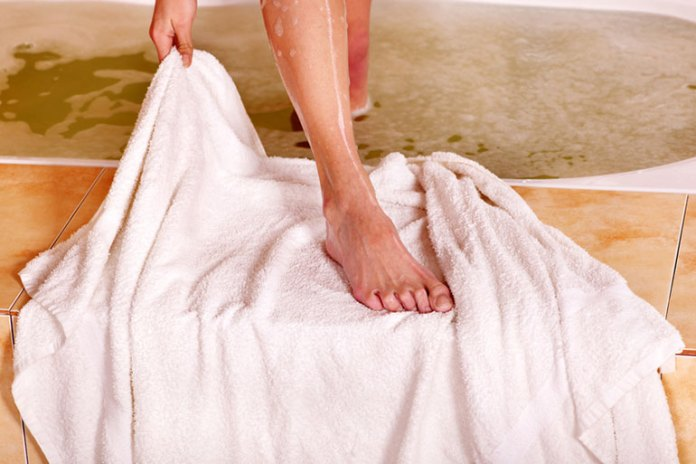 Dry Your Feet Thoroughly After Washing