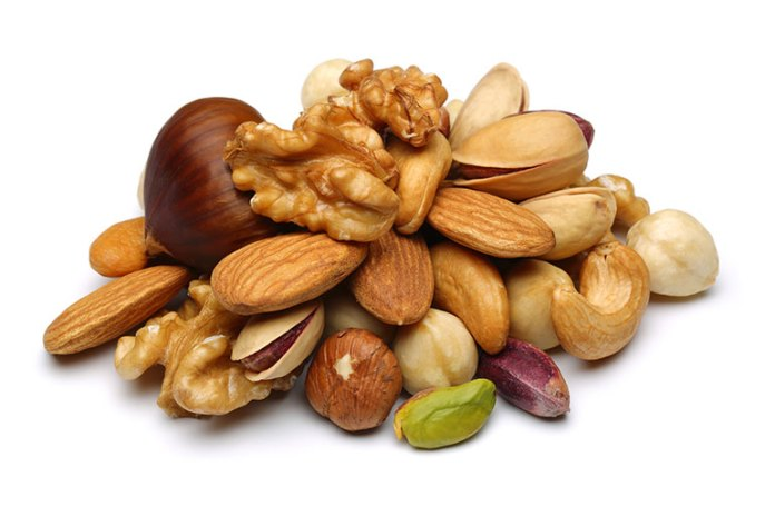 nut helps to get rid of growing and new cataracts thus promotes eye health