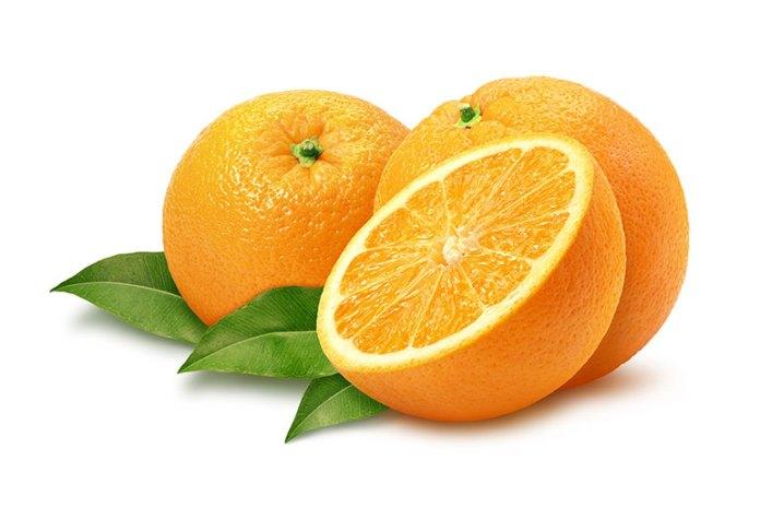 oranges benefit the retina