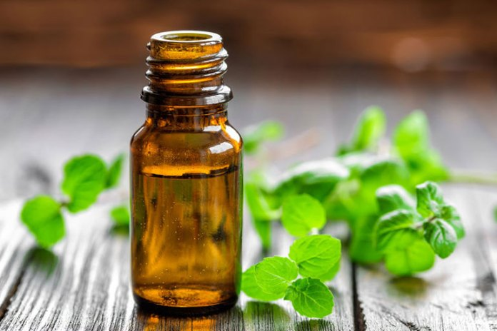 peppermint, it's one of the best essential oils for nausea and vomiting