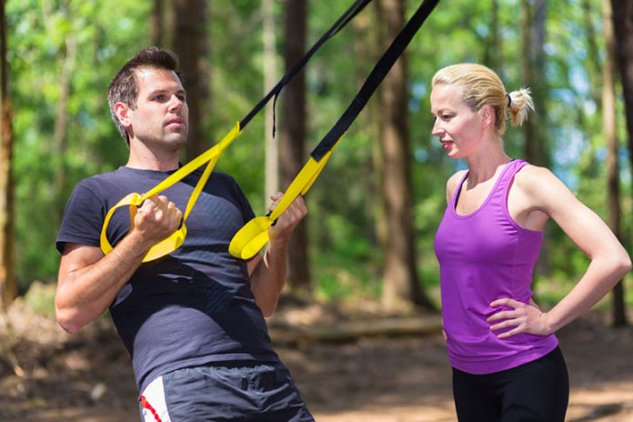 6 Total Body Suspension Workouts: Row