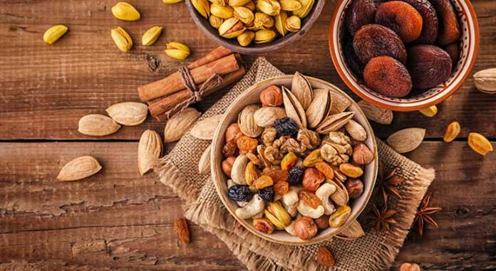Nuts Are Protein Source For Vegetarians
