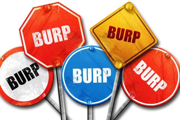 Burping Indicates Gas