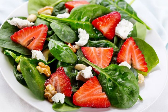Recipe: Basic Spinach Salad