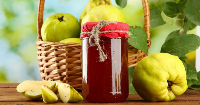Quince Fruit Jelly Recipe