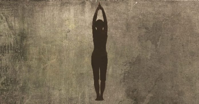 standing mountain pose for neck pain relief
