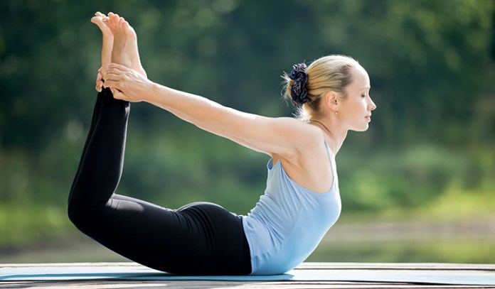 The Bow (Dhanurasana)_Yoga Asanas For Upper, Middle, and Lower Back Pain Relief