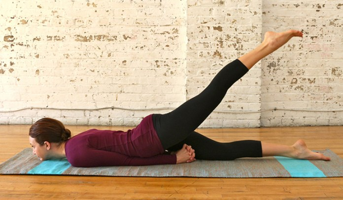 The Half And Full Locust (Shalabhasana)_Yoga Asanas For Upper, Middle, and Lower Back Pain Relief