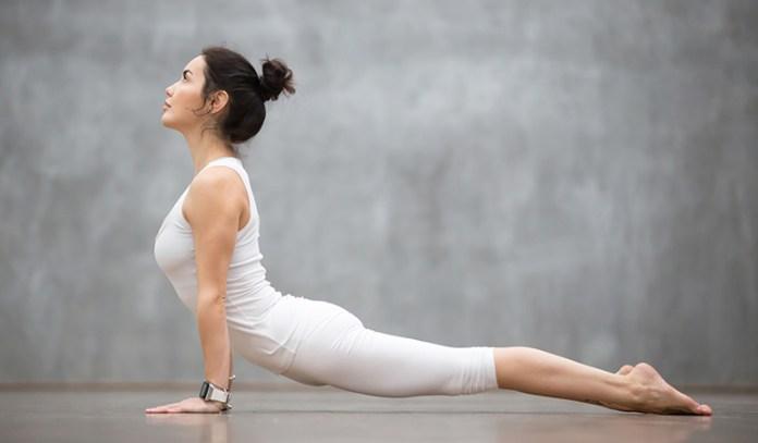 The Upward-Facing Dog (Urdhva Mukha Svanasana)_Yoga Asanas For Upper, Middle, and Lower Back Pain Relief